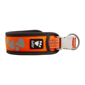 Hurtta Weekend Warrior Collar - 35/45 cm - Neon Orange