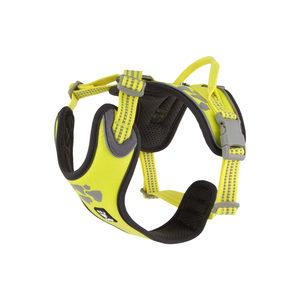 Hurtta Weekend Warrior Harness – 100/120 cm – Neon Lemon