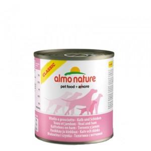 Almo Nature - Classic - Adult dog food - Kalf Ham 12x290g