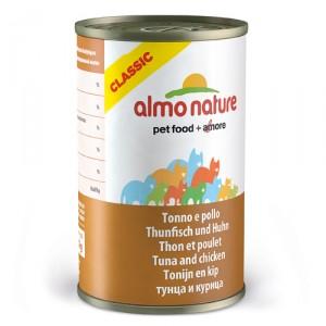 Almo Nature Classic Tonijn en Kip 24x140g