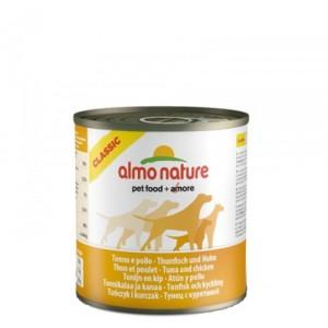 Almo Nature - Classic - Adult dog food - Tonijn Kip 12x290g
