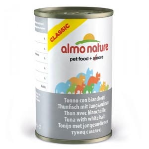 Almo Nature Classic Tonijn met Jonge Ansjovis 24x140g