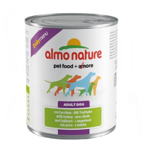 Almo Nature Dog Daily Menu Kalkoen 12x800g
