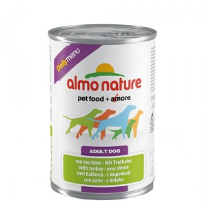 Almo Nature Dog Daily Menu Kalkoen 24x400g