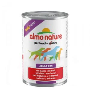 Almo Nature Dog Daily Menu Rund 24x400g