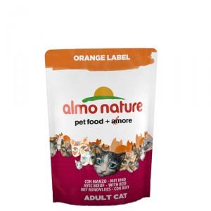 Almo Nature Orange Label Dry Rundvlees 12x105g