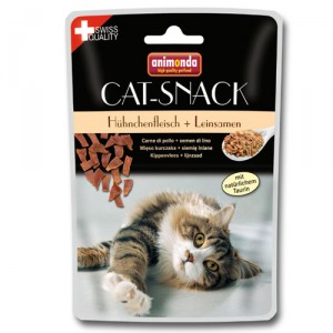 Animonda Catsnack - Kip & Lijnzaad 1 zakje a 45 gram