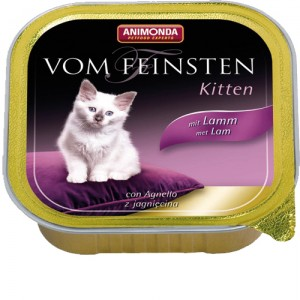 Animonda Vom Feinsten Kitten lam 32x100 gr.