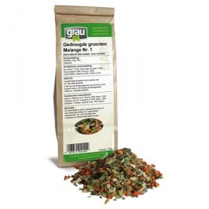 GRAU Getrocknete Gemüsse Melange Nr. 1 - 150 g
