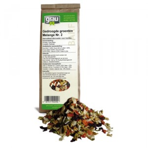 GRAU Getrocknete Gemüsse Melange Nr. 2 - 150 g