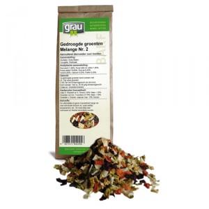 GRAU Getrocknete Gemüse Melange Nr. 2 - 500 g