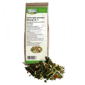 GRAU Gedroogde Groenten Melange Nr. 3 - 150 gr.