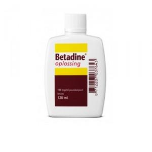 Betadine oplossing - 120 ml