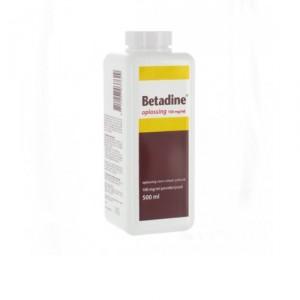 Betadine oplossing - 500 ml