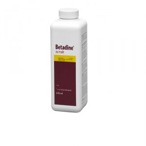Betadine scrub – 500 ml