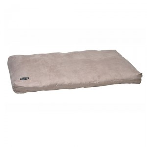 Buster Memory Foam Dog Bed - Beige 100x70 cm.