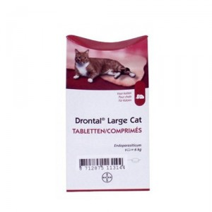 Drontal Large Cat - 8 tabletten