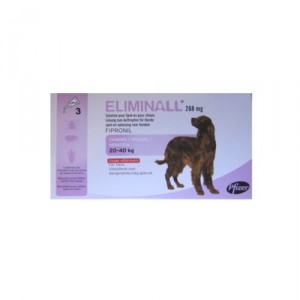 Eliminall Hond L (20-40kg) 3 pip.