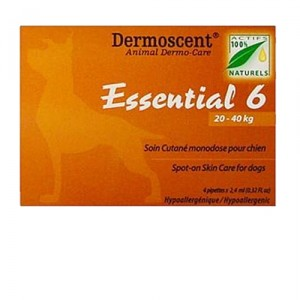 Dermoscent Essential 6 spot-on - Hond - 20-40 kg
