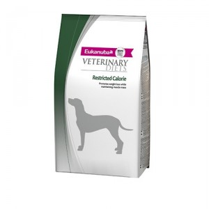 Eukanuba Restricted Calorie Formula - Veterinary Diets - Kat - 4 x 1.5 kg.
