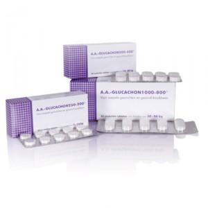 Afbeelding van AA Glucachon 1000-800 - 30 tabletten