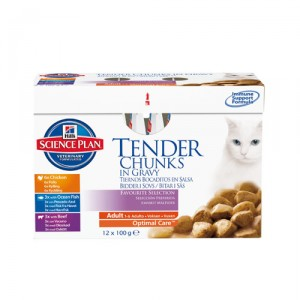 Hill's Science Plan - Feline Adult Favourite Selection 12 x 85 gr. kopen