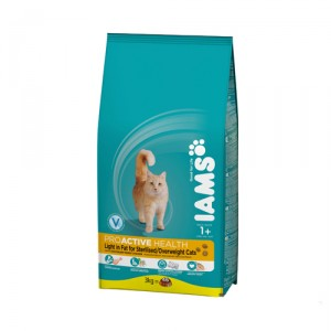 IAMS Adult Cat Light in Fat 10 kg.