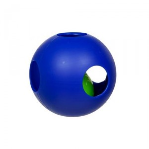 Jolly Teaserball Extra Large (10 inch) 25 cm - blauw