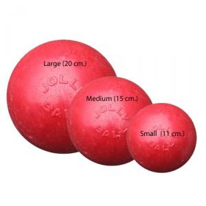 Jolly Bounce-n-Play (6 inch) 15 cm rood