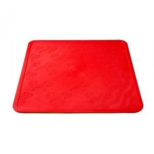 Afbeelding Mustafa onderlegger vierkant (44.5 x 44.5 cm) - Rood
