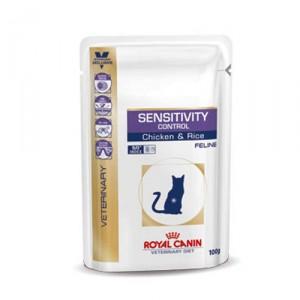 Royal Canin Sensitivity Control kat 48x100g kip (zakjes)