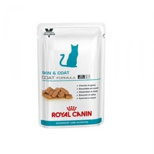 Royal Canin VCN - Skin & Coat - Cat 48x 100 gr