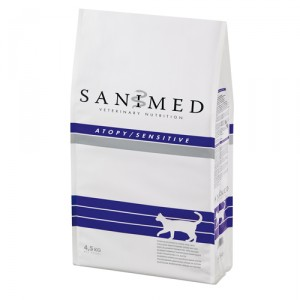 Sanimed Atopy Sensitive Cat - 4,5 kg
