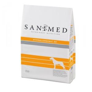 Sanimed Hypoallergenic Dog Eend/rijst 3 kg.