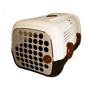 United Pets - Vervoersbox Bruin Wit (BM)