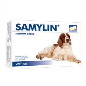 Vetplus Samylin tabletten - middelgrote hond
