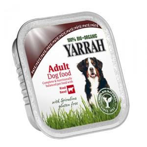 Yarrah - Paté Hond Kuipje met Rund Bio - 14 x 150 g