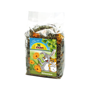 JR Farm Ruwe Knaagdiersnack - Bloemenweide - 100 gram