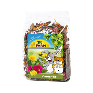JR Farm Ruwe Knaagdiersnack - Zomerveld - 100 gram