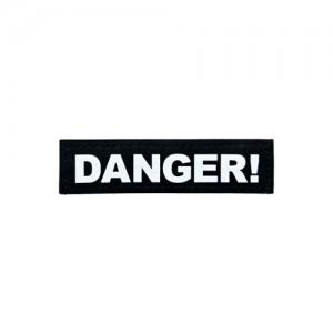 Julius-K9 Labels Groot - Danger!