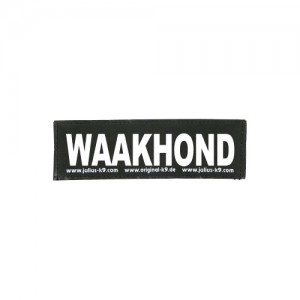 Julius-K9 Labels Groot - Waakhond