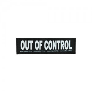 Julius-K9 Labels Klein – S – Out of control
