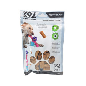 K9 Connectables Tasty Treats – Salmon & Sweet Potato – 130 g