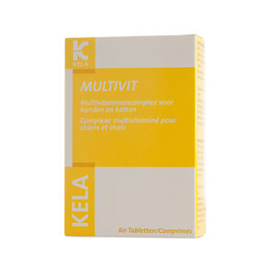 Kela Multivitamine Hond Kat - 60 tabletten