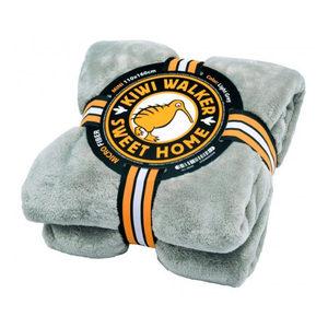 Kiwi Walker Sweet Home Blanket – Maxi – Lichtgrijs