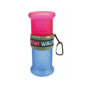 Kiwi Walker Travel Bottle 2in1 - Blauw & Roze