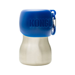 KONG H2O Stainless Steel Water Bottle – Blauw – 280 ml