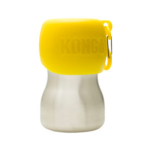 KONG H2O Stainless Steel Water Bottle – Geel – 280 ml