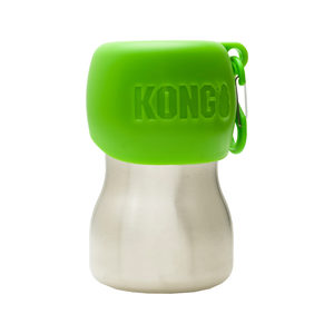 KONG H2O Stainless Steel Water Bottle - Groen - 280 ml