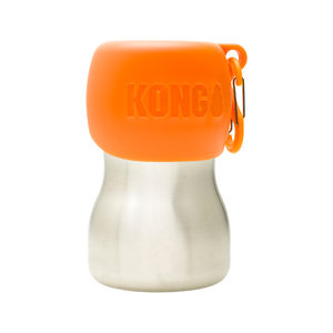 KONG H2O Stainless Steel Water Bottle - Oranje - 280 ml